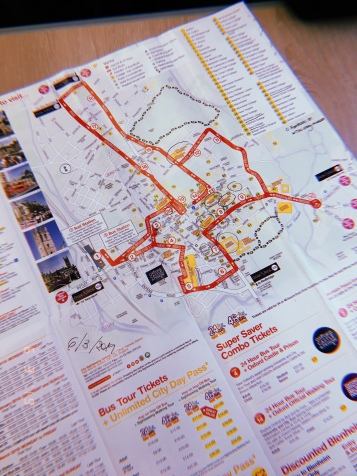 Map van oxford