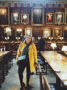 Christ Church College - The Great Hall samen met Henry VIII