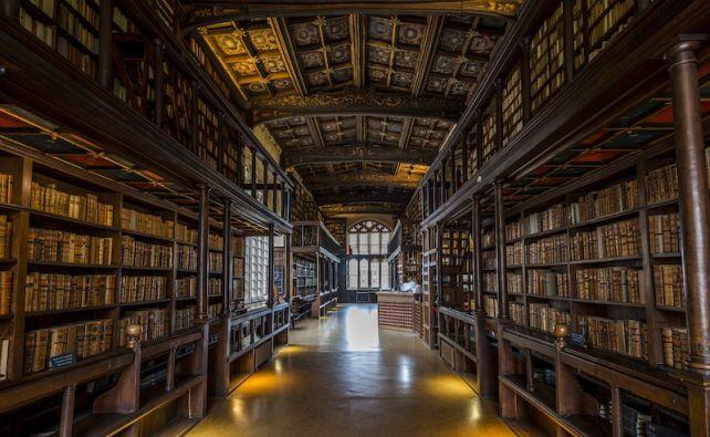 Bodleian Library (foto Google)