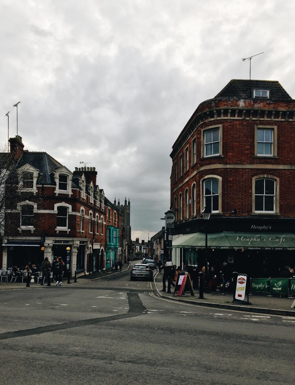 Streets in Glastonbury