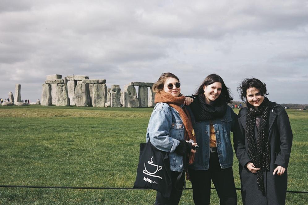 Stonehenge - Irune en Melissa